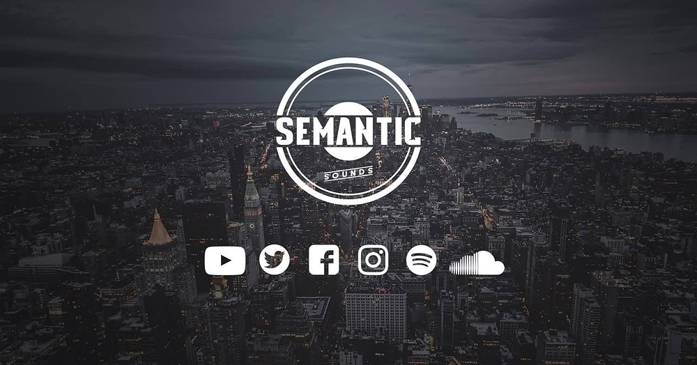 semantic sounds logo