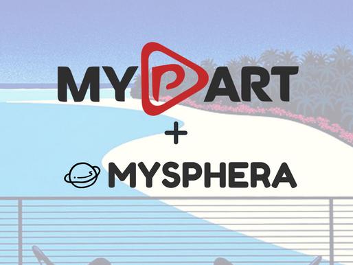 Announcing MyPart X MySphera partnership.