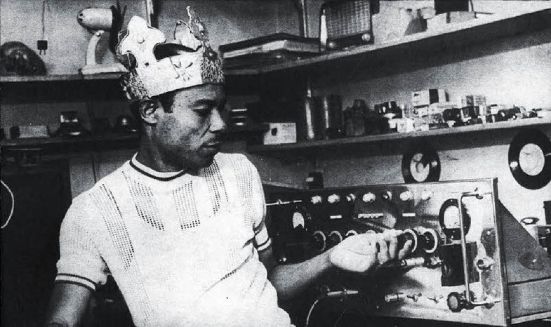 King Tubby in studio analog dub production style