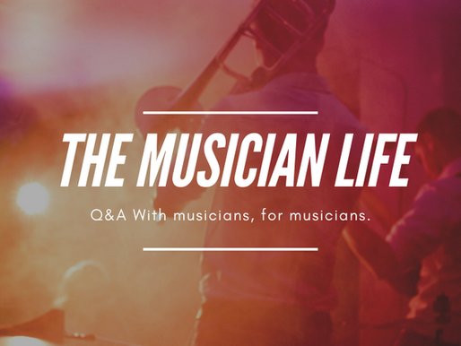 The musician life - series of questions and answers for musicians by musicians.