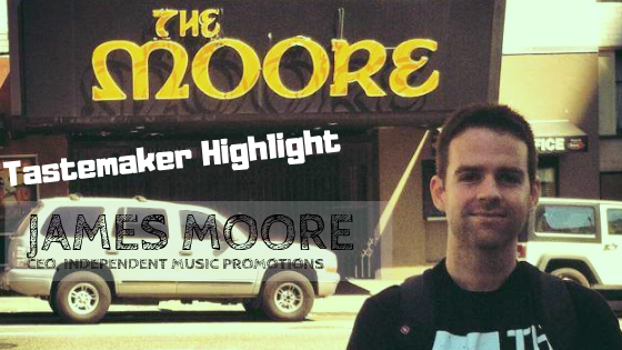 Independent Music Promotions Founder And CEO, James Moore
