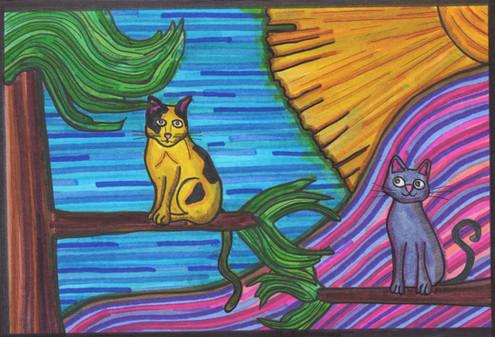 the golden feline