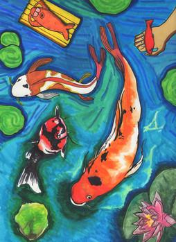the unsuspecting fish