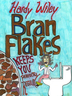 """Hard Wiley Bran Flakes box from """"Its a Wondrous Life"""""""