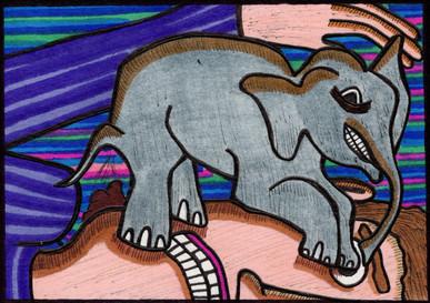 the impact of a tiny elephant