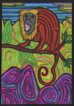 the howler monkey