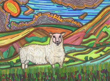 the pleased sheep