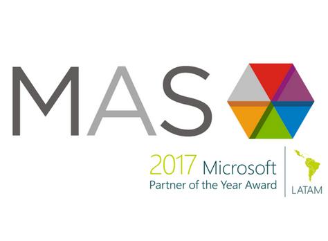"""¡MaS Soluciones elegida por Microsoft como """"Country Partner of the Year"""" por segundo año consecutivo"""