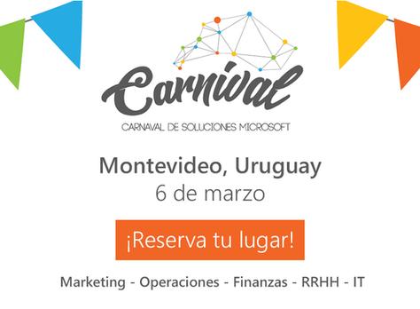 Participaremos del #MicrosoftCarnival en Uruguay