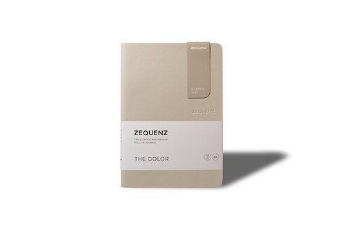 ZEQUENZ The COLOR Journal Notebooks (Taupe)