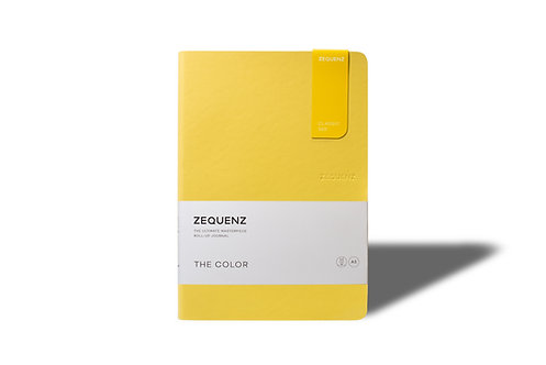 ZEQUENZ The COLOR Journal Notebooks (Mustard)