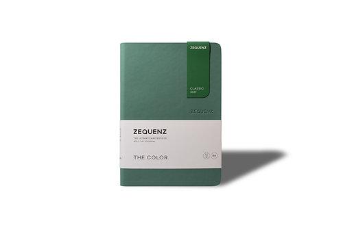 ZEQUENZ The COLOR Journal Notebooks (Jade)