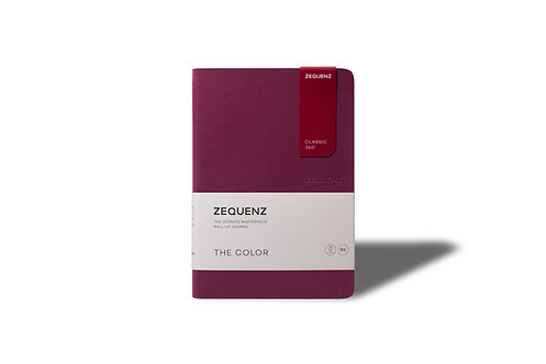 ZEQUENZ The COLOR Journal Notebooks (Berry)