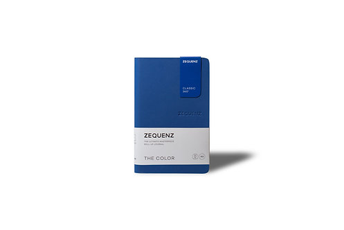 ZEQUENZ The COLOR Journal Notebooks (Royal Blue)
