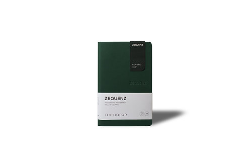 ZEQUENZ The COLOR Journal Notebooks (Emerald)