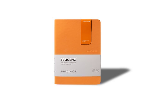 ZEQUENZ The COLOR Journal Notebooks (Apricot)