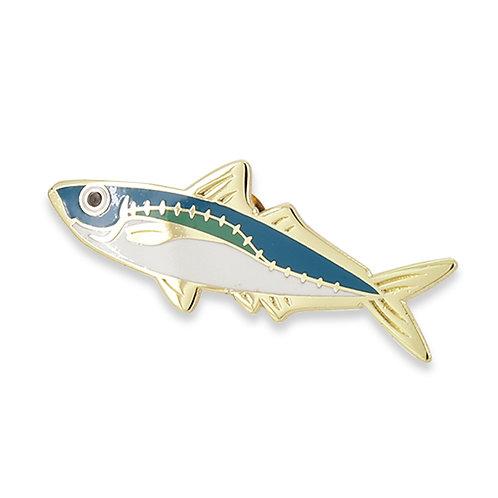 Tasty Fishes Pin Badge(Aji/Horse Mackel)