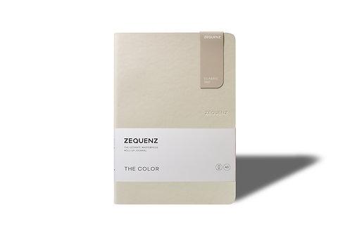 ZEQUENZ The COLOR Journal Notebooks (Beige)