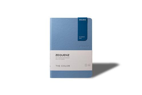 ZEQUENZ The COLOR Journal Notebooks (Light Blue)