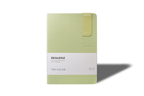 ZEQUENZ The COLOR Journal Notebooks (Olive)