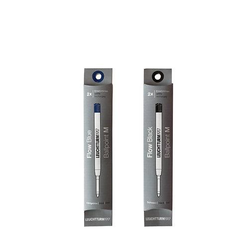 Leuchtturm1917 G2 Drehgriffel Ballpoint Pen Refills pack of 2 ไส้ปากกาลูกลื่น G2