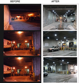Loading Dock LED Relight