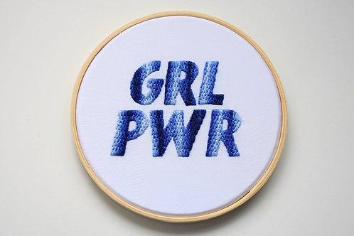 GRL PWR - azul