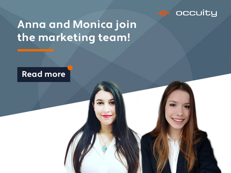 Anna and Monica join the marketing team to support growth.