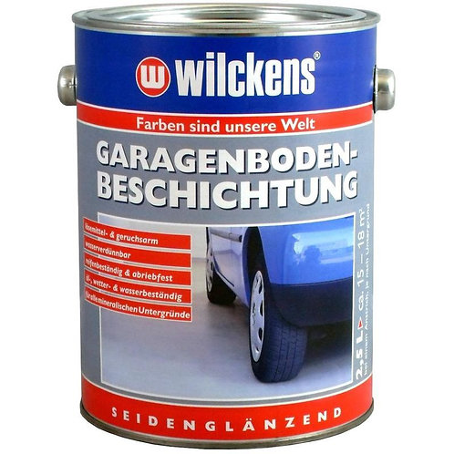 Wilckens Garagenbodenbeschichtung, RAL 7001 silbergrau, 2,5 Liter 11671100080