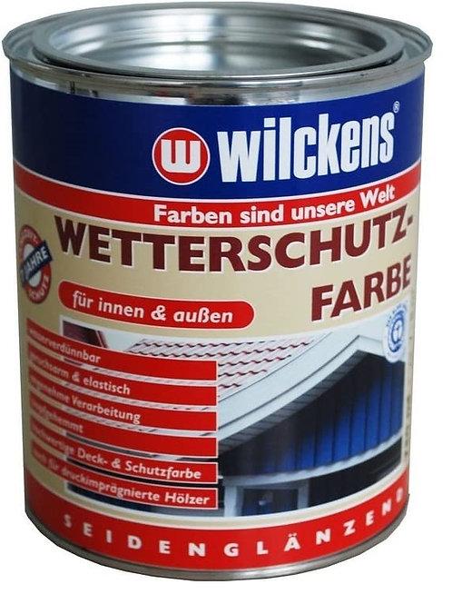 Wilckens 2,5 L. Wetterschutzfarbe, Anthrazitgrau Seidenglänzend 11171600080