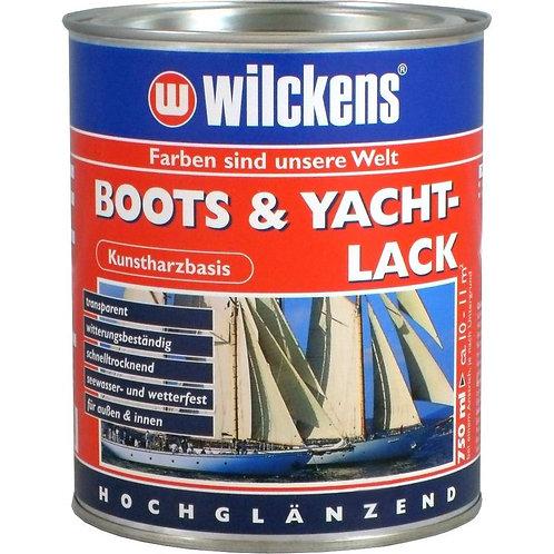 Wilckens Boots & Yachtlack 750 ml Bootslack Lack Kunstharz-Klarlack 11500000050