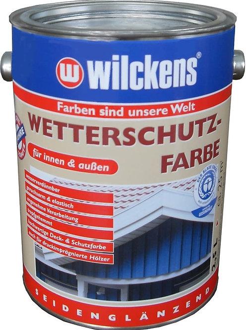 Wilckens Wetterschutzfarbe, RAL 5014 taubenblau, 2,5 Liter 11151400080