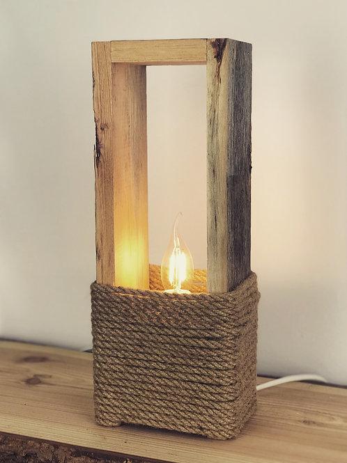 Altholz Stehlampe Tischlampe 40cm