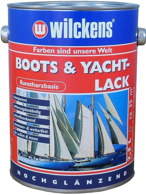 Wilckens Boots & Yachtlack 2,5 l Bootslack Kunstharz-Klarlack 11500000080