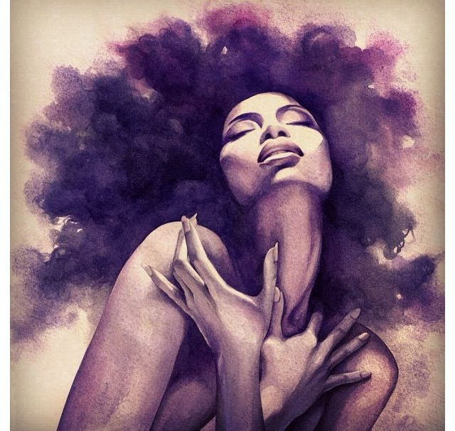 Image result for black woman drawing