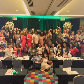 How I Shed, Pivot and Flipped in New Orleans with Happy Black Women!