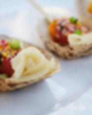 Tuna Poke & Mango Mini Bites