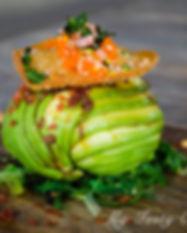 Crab stuffed avocado – lump crab, breakf
