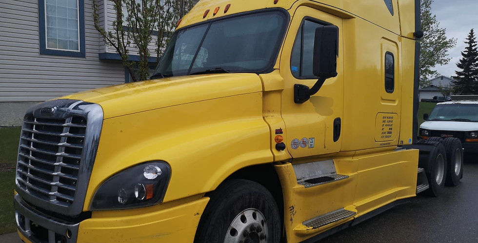 2015 Freightliner Cascadia - Yellow