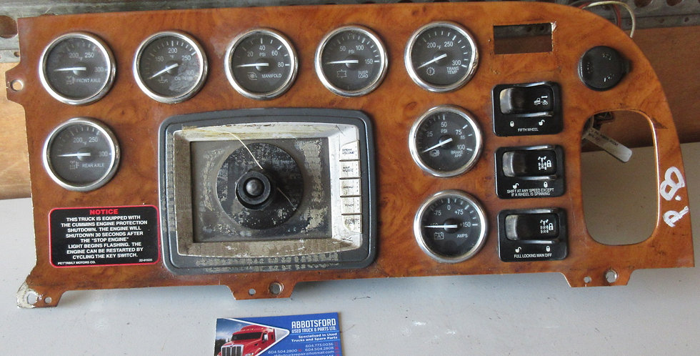Peterbilt Dash Panel | OEM #: S64-6024-120