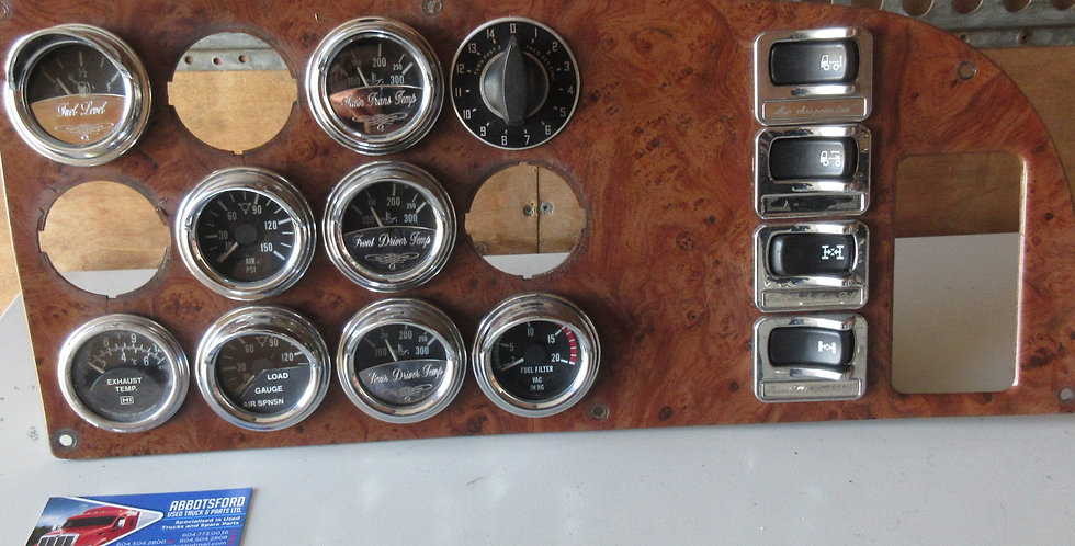 Peterbilt 379 Dash Panel (2007) | OEM #: 1704236-19300