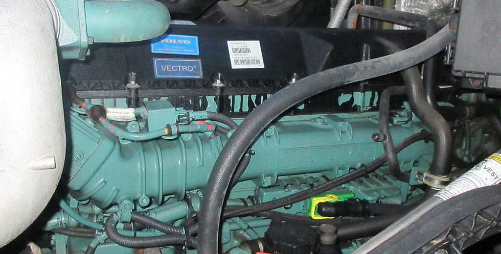 Volvo D-13 Engine - 500HP (2015)