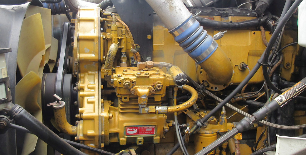 CAT C-15 MBN Single Turbo (2004)