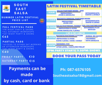 Summer Latin Festival... This Weekend!! 😁🕺💃🎶