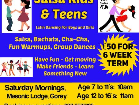 Salsa Kids and Teens