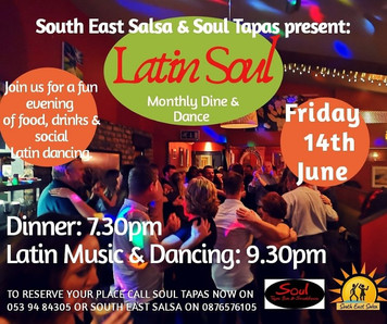 Dine and Dance at Soul - 14th June