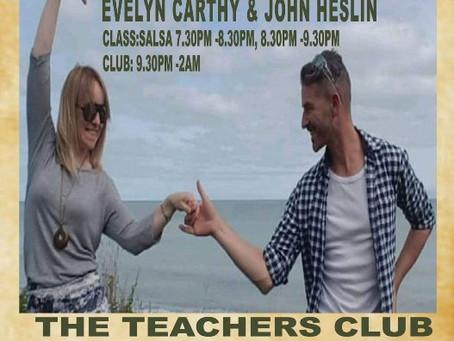 23rd Feb - Guest Teaching in Dublin