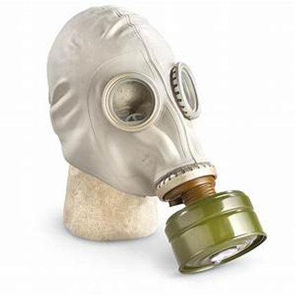 Latex Gas Mask ( Russian )