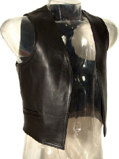 Leather Vaste Coat
