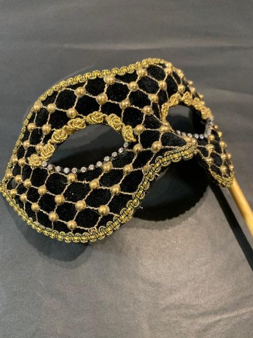 Venetian Premium Hand Held Mask
